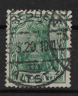 Deutsches Reich GERMANIA 85 IIa gestempelt (BPP JÄSCHKE)