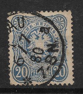 Deutsches Reich PFENNIGE 34a gestempelt (BPP JÄSCHKE)
