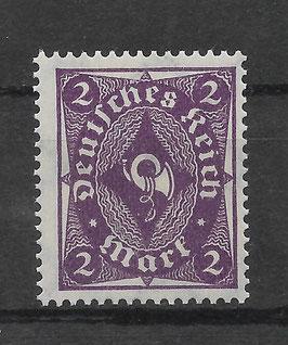 Deutsches Reich FREIMARKE POSTHORN 224a postfrisch (BPP BAUER)