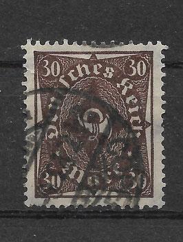 Deutsches Reich FREIMARKE POSTHORN 231b gestempelt (BPP BAUER) (2)