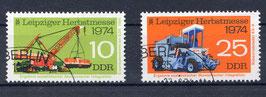 DDR 1973-1974 gestempelt