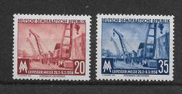 DDR 518-519 postfrisch