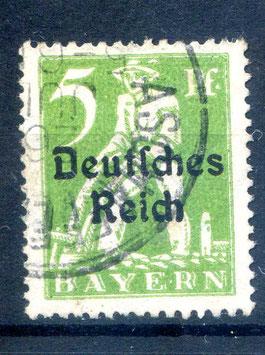 Deutsches Reich  FREIMARKE 119 gestempelt