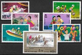 NORDKOREA 1954-1960 gestempelt
