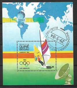GUINEA-BISSAU Block 260 gestempelt