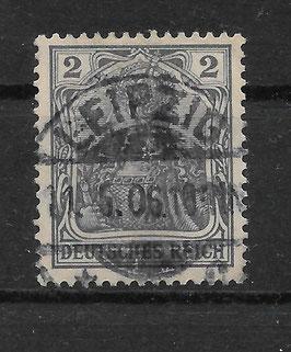 Deutsches Reich GERMANIA 83 I gestempelt (BPP JÄSCHKE) (III)