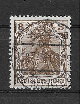 Deutsches Reich GERMANIA 84 I gestempelt (BPP JÄSCHKE) (III)