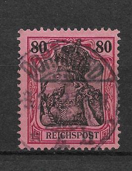 Deutsches Reich REICHSPOST 62 gestempelt (3)
