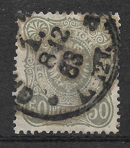 Deutsches Reich PFENNIG 44 Ia gestempelt (BPP WIEGAND) (VI)