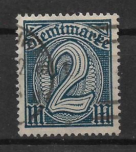 Deutsches Reich DIENST 32 gestempelt (INFLA)