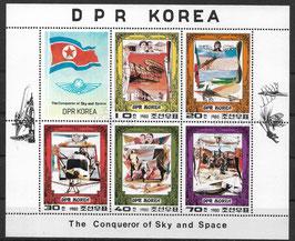Nordkorea Kleinbogen 1997-2001 gestempelt