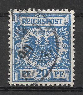 Deutsches Reich KRONE/ADLER 48a gestempelt (BPP WIEGAND) (3)