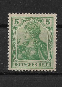 Deutsches Reich GERMANIA 70b ungebraucht ohne Gummi (BPP JÄSCHKE)