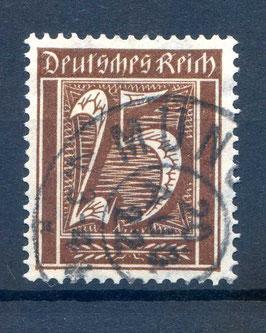 Deutsches Reich FREIMARKE 180 gestempelt