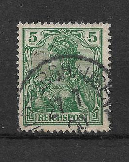 Deutsches Reich REICHSPOST 55 gestempelt (III)