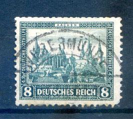 Deutsches Reich NOTHILFE BAUWERKE 450 gestempelt