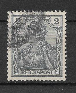 Deutsches Reich REICHSPOST 53 gestempelt (VII)