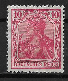 Deutsches Reich GERMANIA 86 IIc ungebraucht (BPP JÄSCHKE)