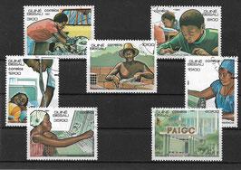 GUINEA-BISSAU 797-803 gestempelt