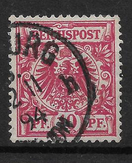 Deutsches Reich KRONE & ADLER 47d gestempelt (BPP ZENKER) (3)