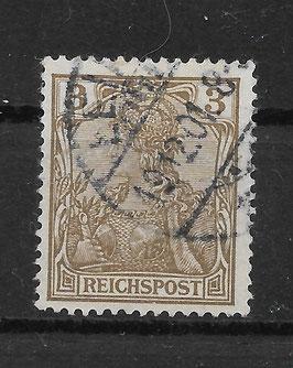 Deutsches Reich REICHSPOST 54a gestempelt (BPP JÄSCHKE) (V)
