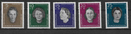 DDR 715-719 postfrisch