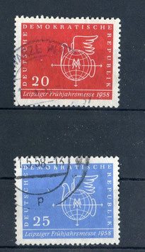 DDR 618-619 gestempelt