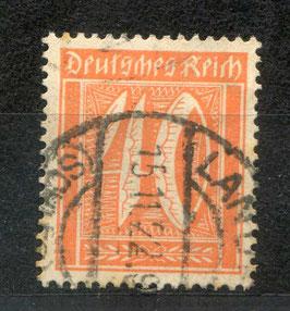 Deutsches Reich FREIMARKE 182 gestempelt