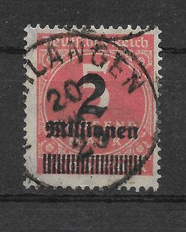 Deutsches Reich FREIMARKE 312 Aa gestempelt (BPP BAUER)