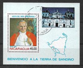NICARAGUA Block 148 gestempelt