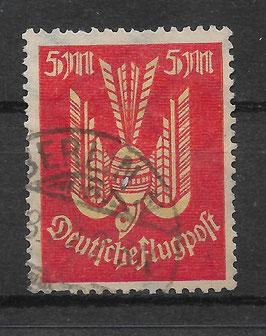 Deutsches Reich FLUGPOST HOLZTAUBE 218 gestempelt (INFLA) (3)