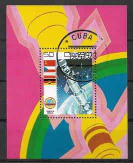 CUBA Block 58 gestempelt