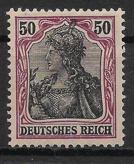 Deutsches Reich GERMANIA 91 IIx ungebraucht (BPP JÄSCHKE) (3)