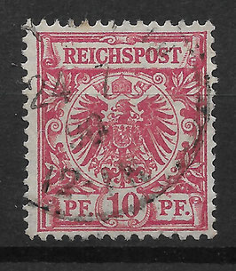 Deutsches Reich KRONE/ADLER 47a gestempelt (BPP JÄSCHKE) (IV)