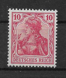 Deutsches Reich GERMANIA 86 Ia postfrisch (BPP JÄSCHKE-LANTELME)