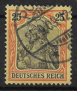 Deutsches Reich GERMANIA o. WZ 73 gestempelt (V)