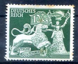 DR GESELLSCHAFT für GOLDSMIEDEKUNST 817 postfrisch