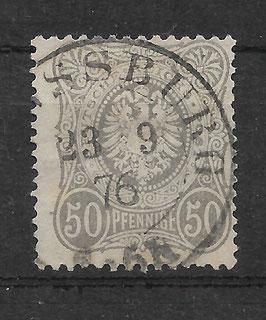 Deutsches Reich PFENNIGE 36a gestempelt (BPP WIEGAND) (15)