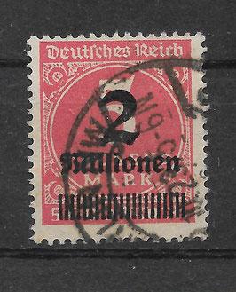 Deutsches Reich FREIMARKE 312 Aa gestempelt (BPP BAUER) (2)