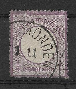 Deutsches Reich BRUSTSCHILD 1 gestempelt (BPP KRUG) (2)