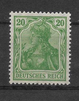 Deutsches Reich GERMANIA 143b postfrisch (BPP BAUER)