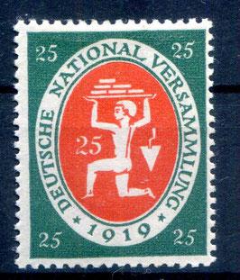Deutsches Reich NATIONALVERSAMMLUNG 109 ungebraucht