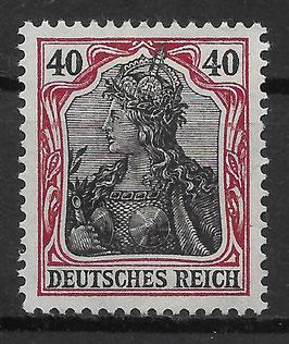 Deutsches Reich GERMANIA 90 IIb ungebraucht (BPP JÄSCHKE) (5)