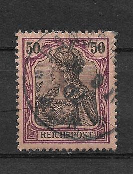 Deutsches Reich REICHSPOST 61 gestempelt (V)