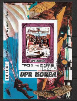 Nordkorea Block 74 gestempelt (2)