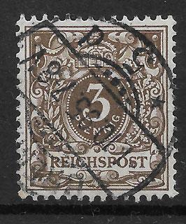 Deutsches Reich KRONE & ADLER 45b gestempelt (BPP WIEGAND) (7)