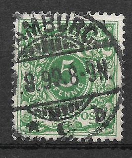Deutsches Reich KRONE/ADLER 46c gestempelt (BPP WIEGAND) (II)