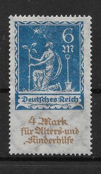 Deutsches Reich ALTERS- und KINDERHILFE 233 postfrisch