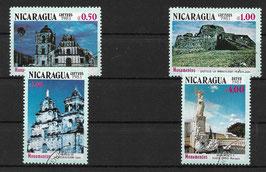 NICARAGUA 2383-2386 gestempelt