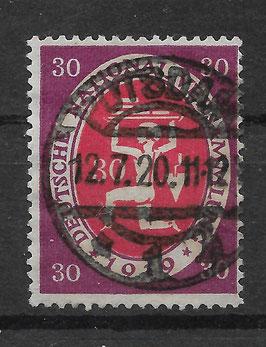 Deutschs Reich NATIONALVERSAMMLUNG 110a gestempelt (INFLA) (2)